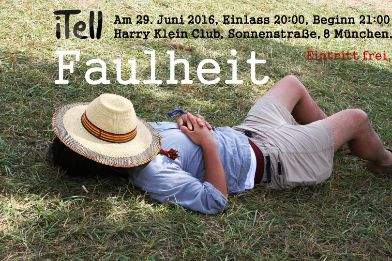 iTell Faulheit Flyer1.1